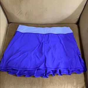 Lululemon regular length purple skirt